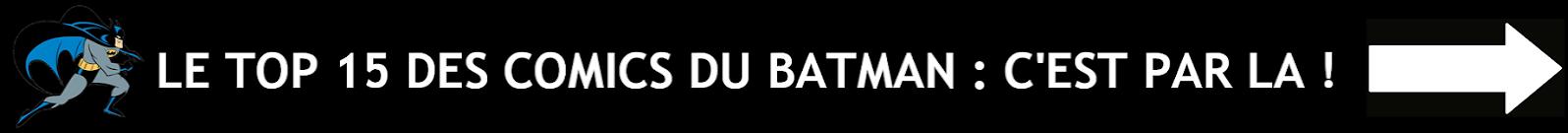 Top 15 des meilleurs comics du Batman