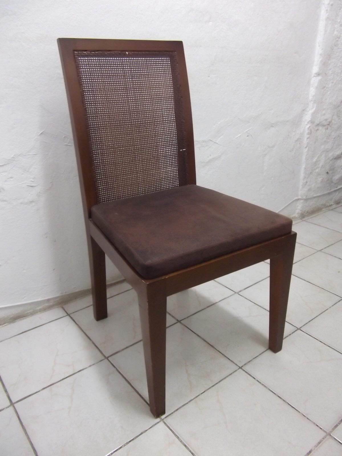Cadeira e Mesa: Cadeira com Palha #3F2E29 1200x1600