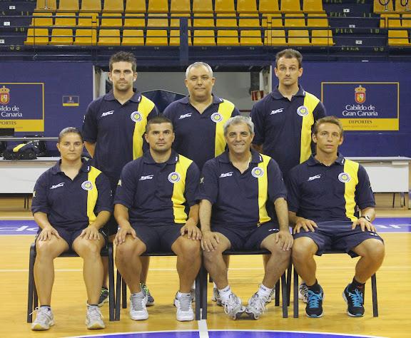Cuerpo Técnico Colegios Arenas Futbol Sala
