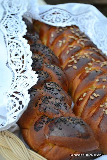 Il pane dolce dello Shabbat alla farina di segale