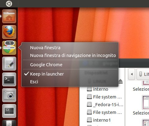 Ubuntu oneiric ocelot alpha 2 - Finestra in incognito ...