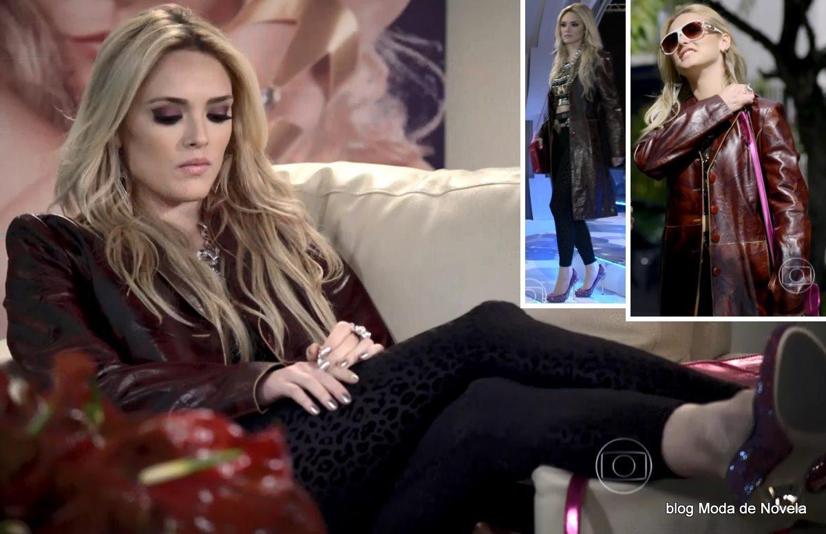 moda da novela G3R4Ç4O BR4S1L - look da Megan dia 10 de maio