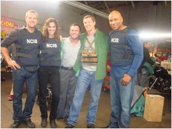 Imágenes del rodaje de NCIS LA (1º temporada) PORTADA