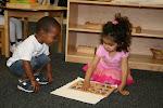 LePort Montessori Preschool Toddler Program Huntington Pier - team work