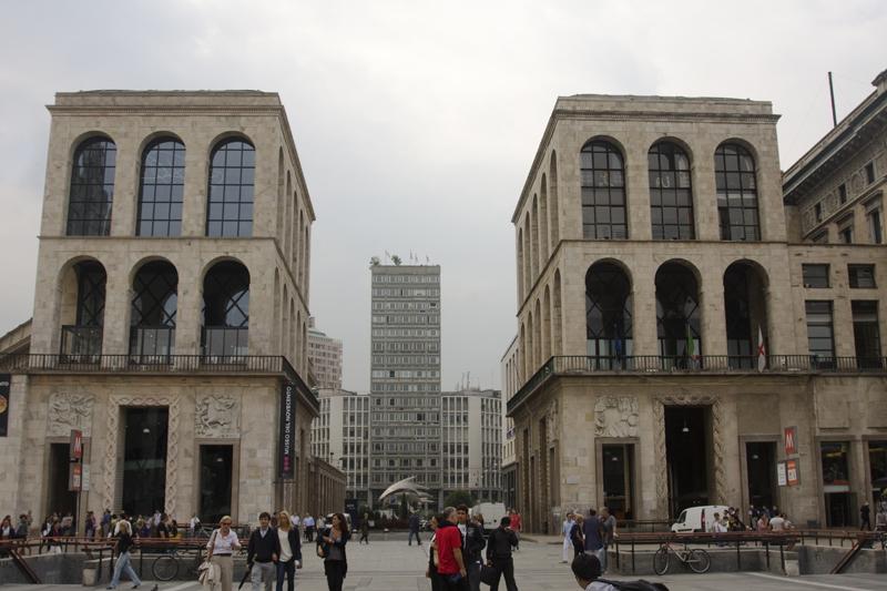 Немного архитектуры эпохи Муссолини