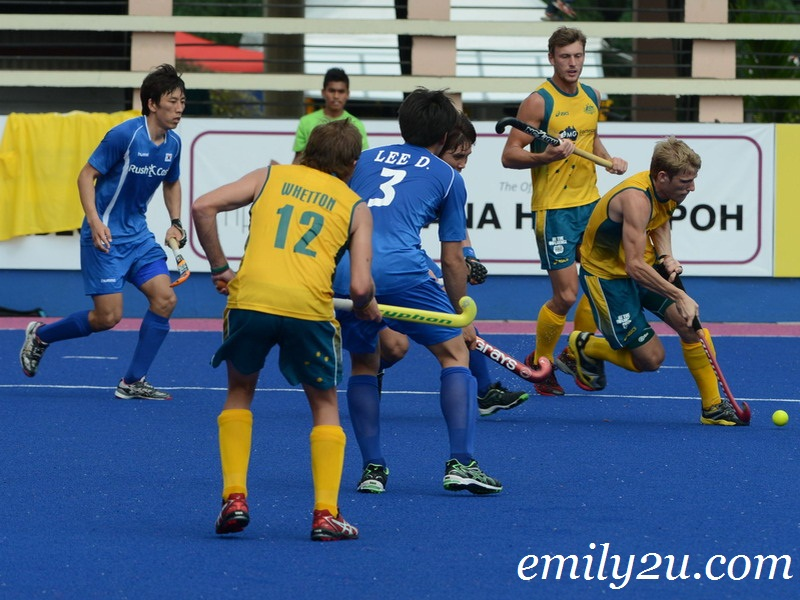 SAS Cup 2013 men's international field hockey
