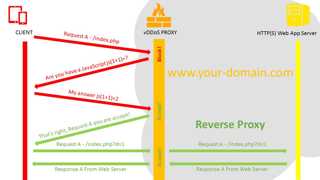 vDDoS Proxy Protection