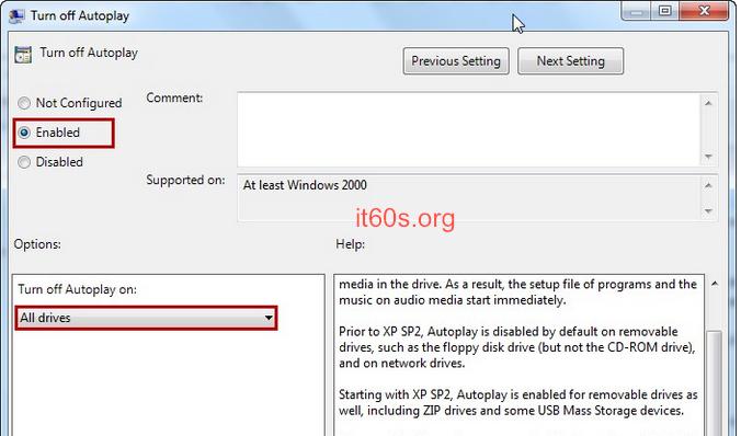 Cách vô hiệu tính năng Autoplay trên hệ điều hành Windows 2