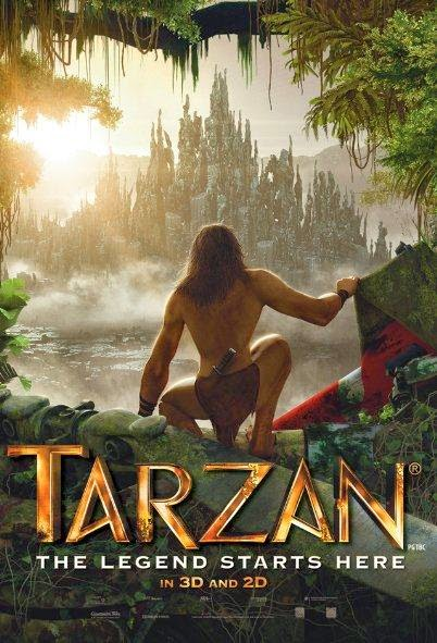 Poster Of Tarzan (2013) Full Movie Hindi Dubbed Free Download Watch Online At Alldownloads4u.Com
