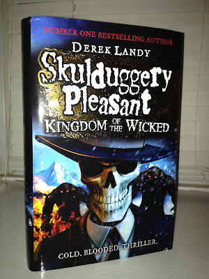 Derek Landy Skulduggery Pleasant Kingdom of the Wicked - emma in bromley, giveaway, comp and review