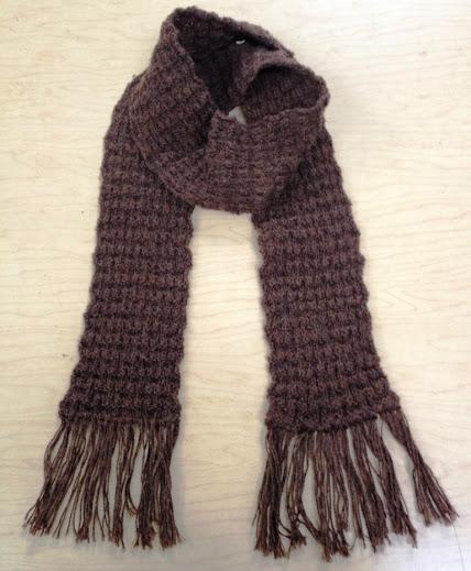 Foulard tricot