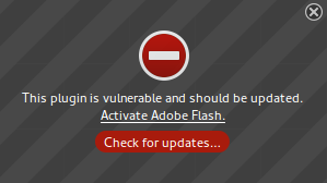 Активация на Adobe Flash plugin