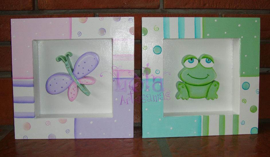 Lola artesan as nuevos dise os de cuadros con profundidad - Disenos de cuadros ...