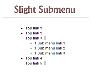 Slight Submenu jQuery Plugin