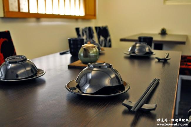 淞山亭壽司用餐器具