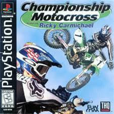 Championship Motocross Featuring Ricky Carmichael   PS1