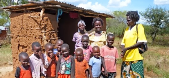 Aid project in Kenya