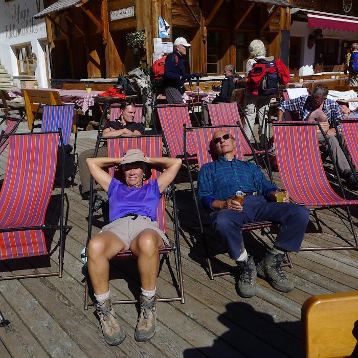 Rifugio Edelweiss' sun deck