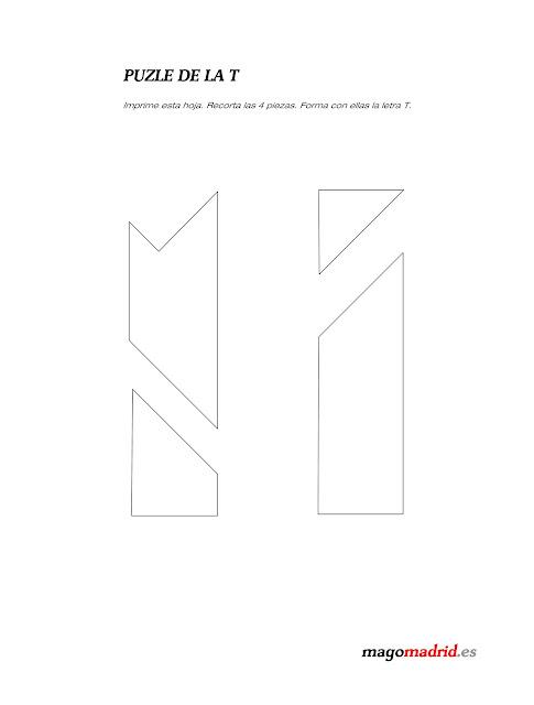 Puzzle de la T