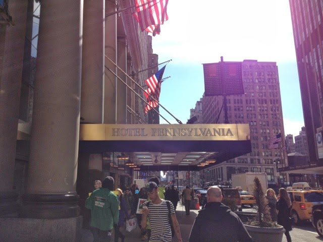 Katie wanders billy joel and new york city Hotel across from madison square garden