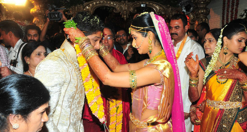 Nitin Wedding Photos Allu Arjun Wedding Photos