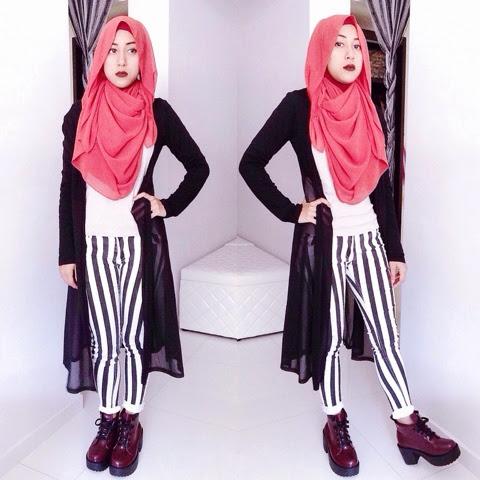 Hijab Diaries By Hidayah Ahmad Hijab Ootd With New Boots