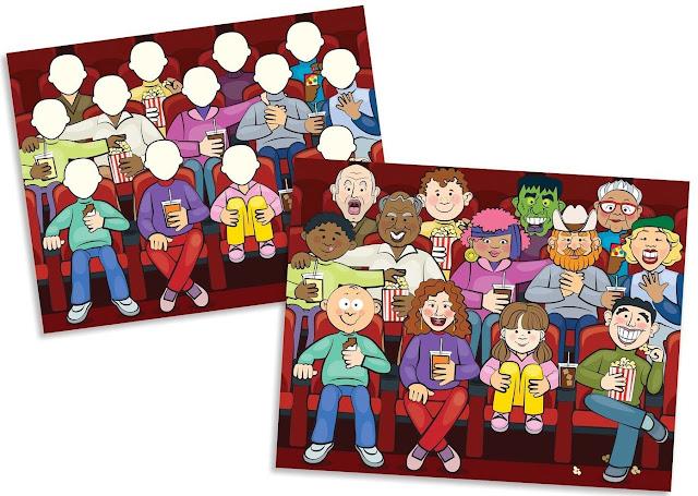 Tạo nên những bức tranh sinh động từ Sách sticker Gương mặt vui vẻ ME9103