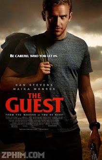 Vị Khách Không Mời - The Guest (2014) Poster