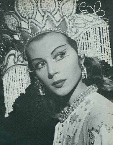 Beriosova vintage actrice
