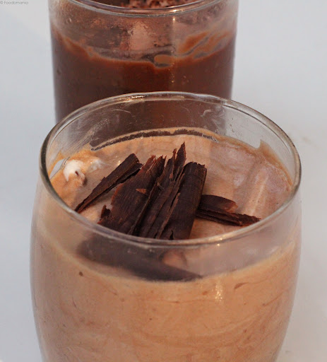 Eggless Chocolate Mousse Recipe | Easy Chilled Agar Agar Treats