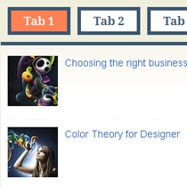 jquery tab for blogspot
