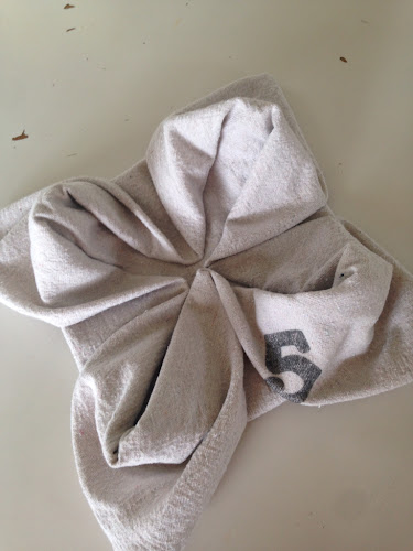 Bite ole napkins and napkin folding tutorial