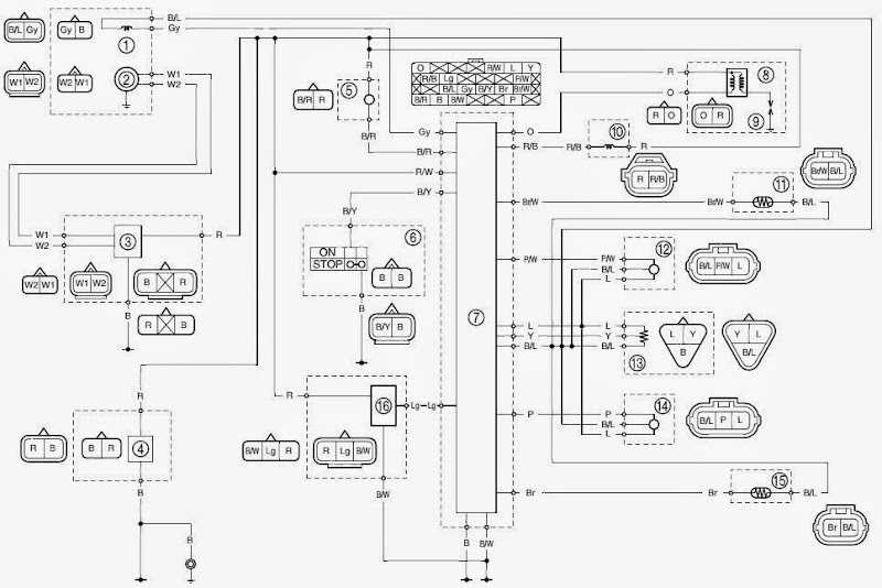 My Husband Is Working On A Yamaha Gytr And Needs The Wiring Diagram