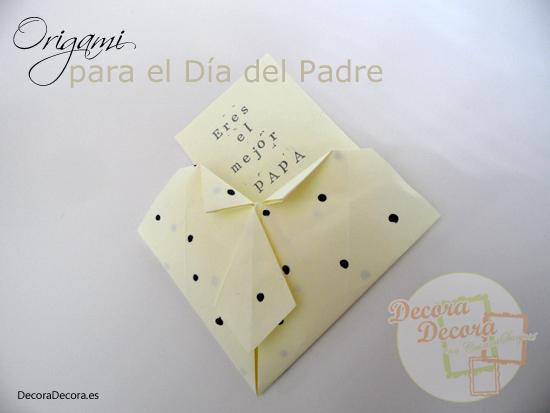 Cómo hacer una tarjeta para el Día del Padre.