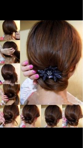 Peinados sencillos y elegantes llena de glamour - Peinados faciles y elegantes ...