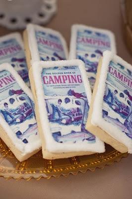semplicemente perfetto festa baby shower camping rustico western