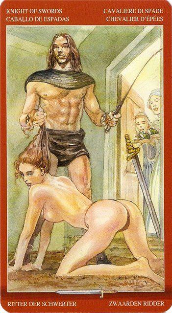Таро сексуальной магии 6 жезлов