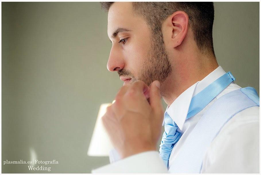 Fotografía de Quique. Un novio que se casó en la comunidad de Madrid.