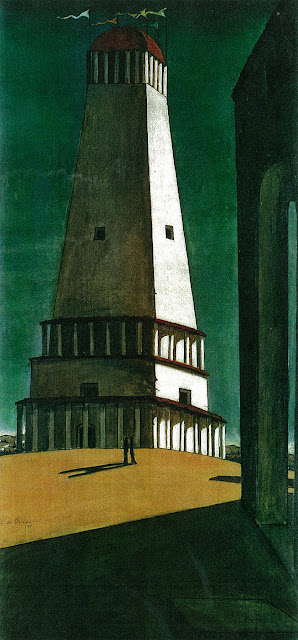 Giorgio de Chirico - The Nostalgia of the Infinite, 1912