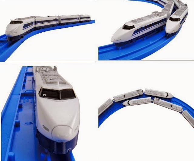 Đồ chơi Tàu hỏa AS-12 Series 100 Shinkansen chạy bằng pin