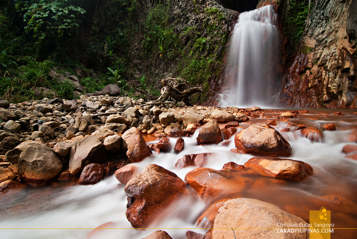 Slow Shutter at Pulang Bato Falls in Valencia, Negros Oriental