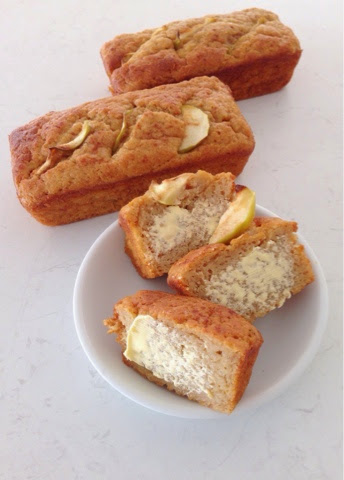 Apple and Banana Mini Loaves