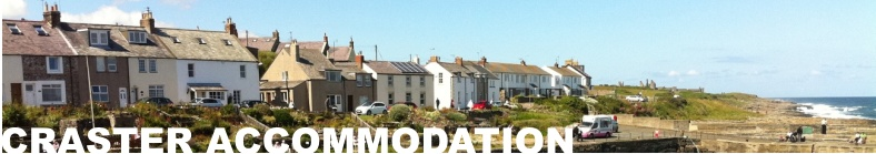 Accommodation in Craster and surrounding areas