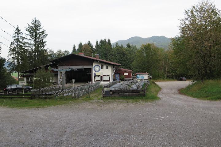 Talstation der stillgelegten Geigelsteinbahn