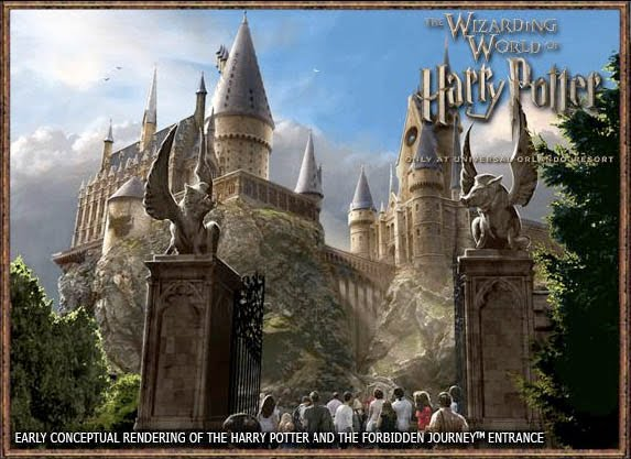 New Harry Potter Theme Park at Hollywood