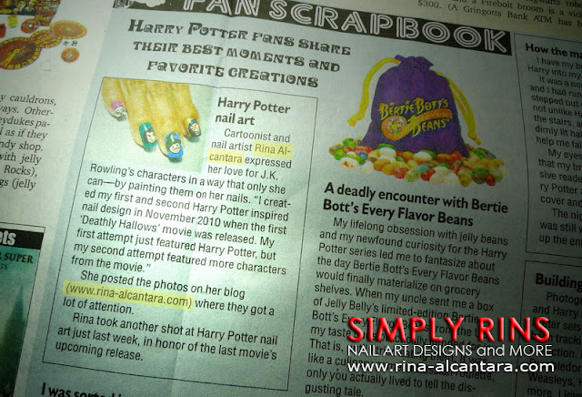 Harry Potter nails by Simply Rins on Inquirer