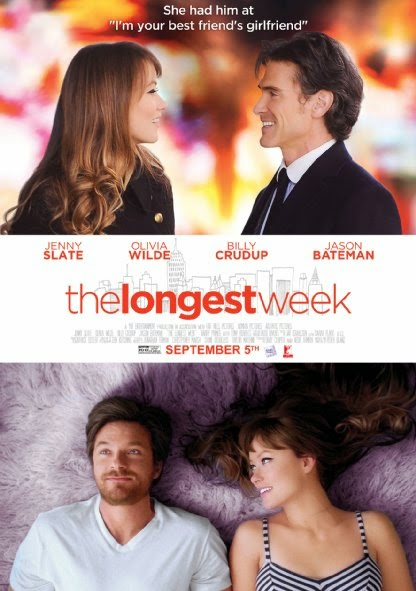 Poster Of English Movie The Longest Week (2014) Free Download Full New Hollywood Movie Watch Online At Alldownloads4u.Com