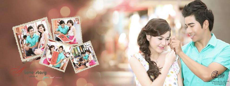 Đôi uyên ương nô nức đón mừng năm mới trong album hình cưới đẹp của studio DLDUY