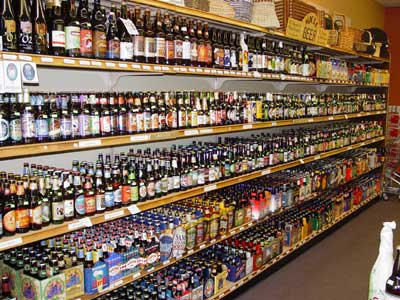 Description: http://www.wakefieldliquors.com/images/beerwall1.jpg