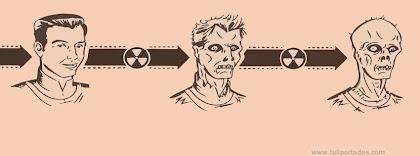 Portada para facebook de Transformación de un zombie